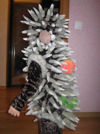 фото костюм ежика